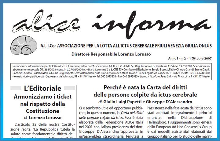 ALICe Informa Ottobre 2007