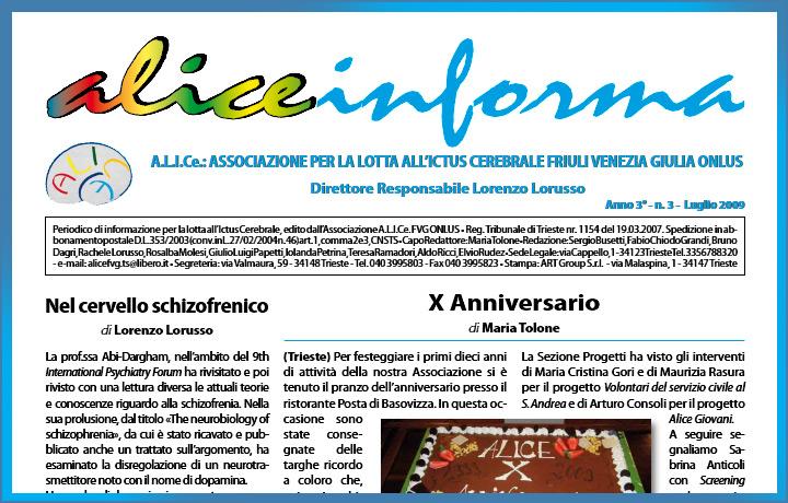 aliceinforma - luglio 2009