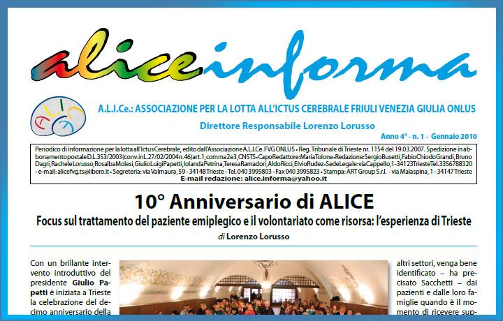 aliceinforma – gennaio 2010