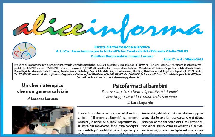 aliceinforma – ottobre 2010