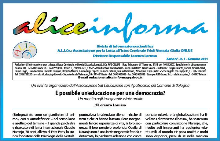 aliceinforma - gennaio 2011