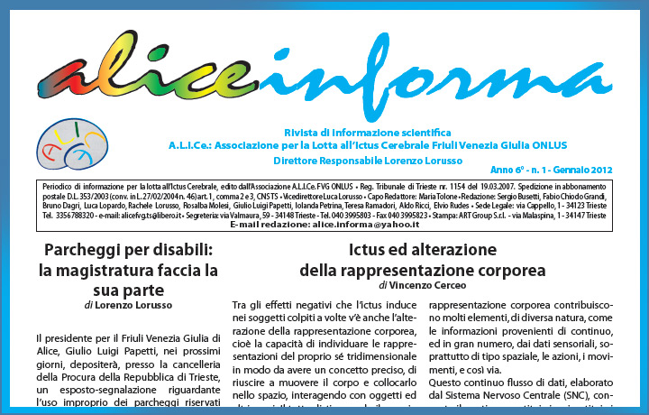 aliceinforma - gennaio 2012