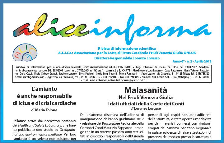 aliceinforma - aprile 2012