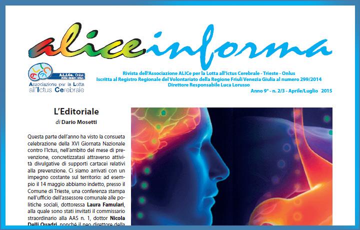 aliceinforma - aprile/luglio 2015