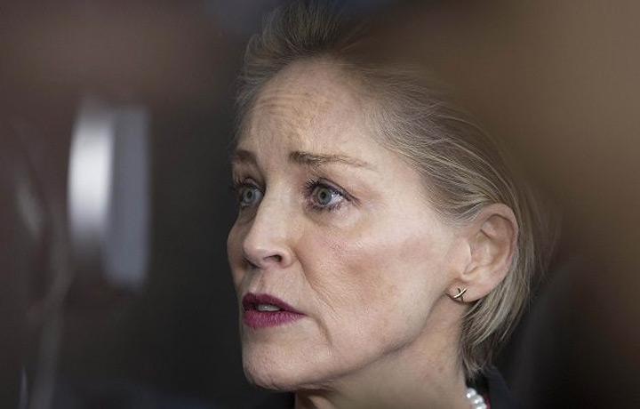 Sharon Stone si reinventa pittrice contro il coronavirus